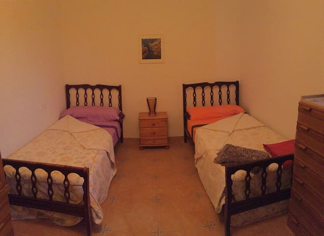 Habitación grupos / backpackers room - Vejer de la Frontera - Bed & Breakfast