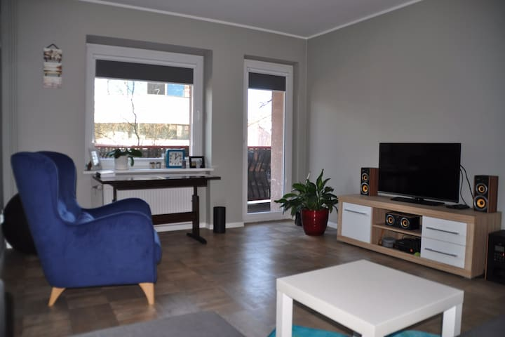 Large room (1 or 2 people) near city center - Wrocław
