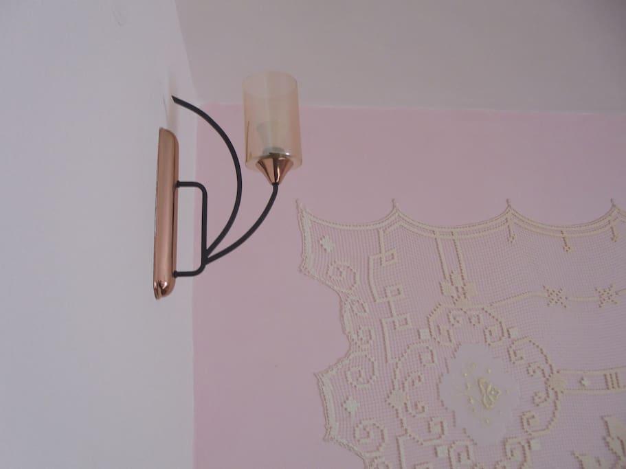 Detail romantického pokoje