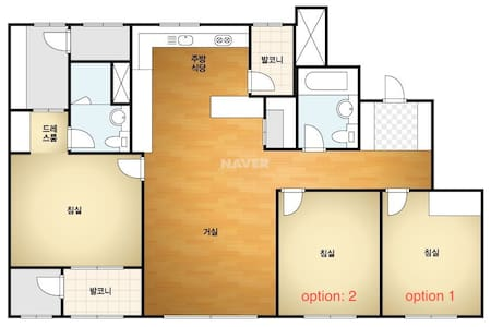 Clean and new apartment in Pyeongtaek-si, Korea