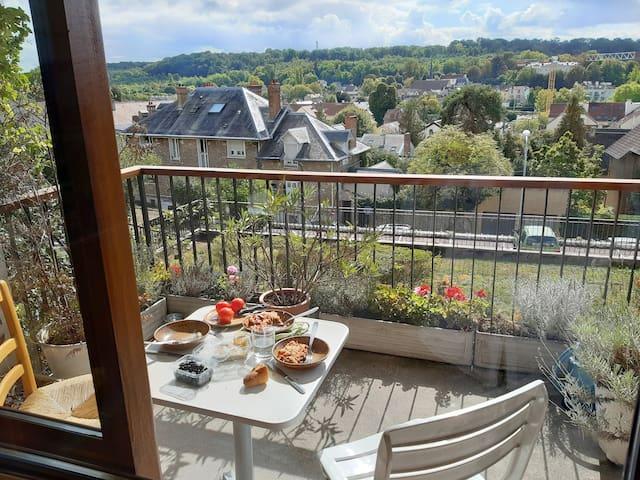Très agréable appartement à Jouy-en-Josas