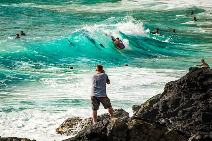 Photograph Surfers