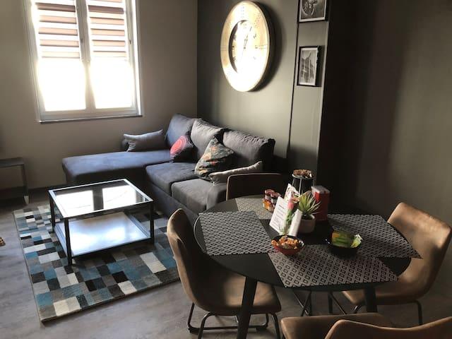 Appartement confort famille + terrasse Ref TR11