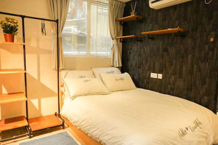 Double Bedroom, 5 min to Prince Edward MTR