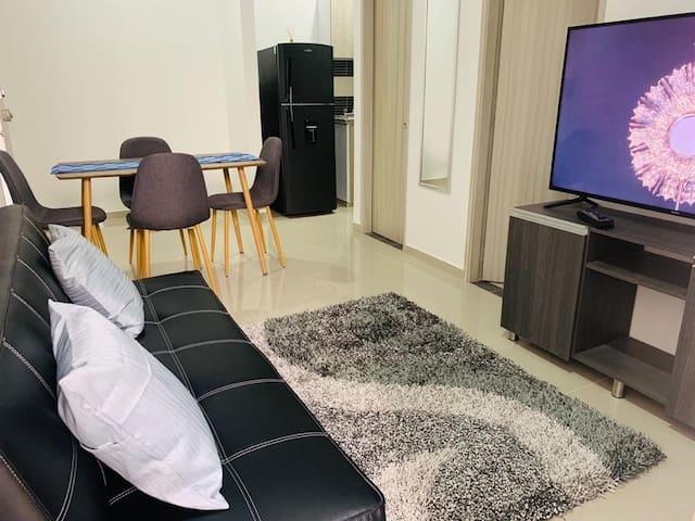 Hermoso apartamento zona norte 3 Personas 102