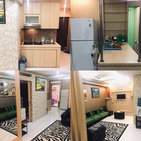 3BR Apartemen Gateway cicadas nice price size 72m2