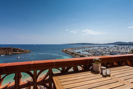 Luxurious flat on the beach with terrace sea view - Apartment