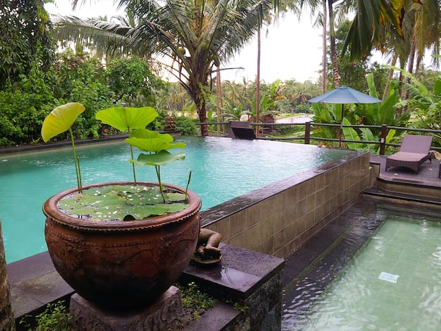 Ricefield Bungalow near Ubud Center - Ubud - Flat