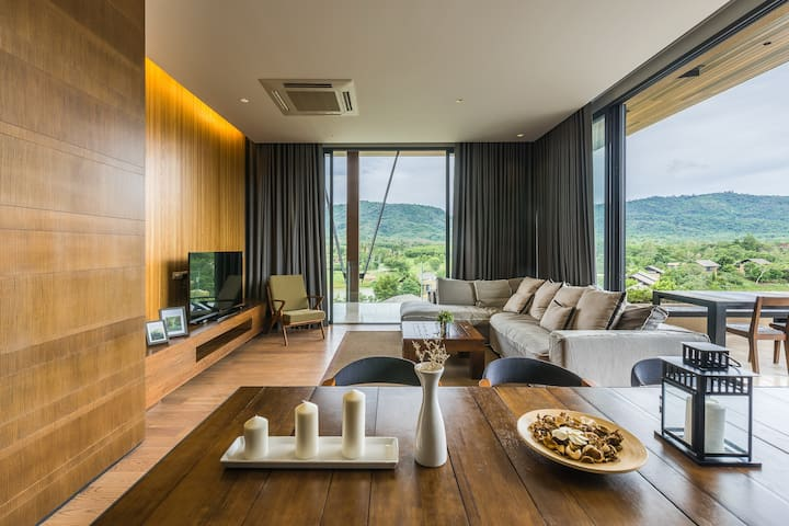 KhaoYai Penthouse with Rooftop Pool #1