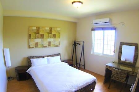 Cozy master bed room