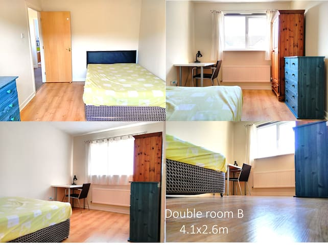 Southern view double room - Manchester - House