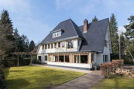 Spacious private villa near Amsterdam