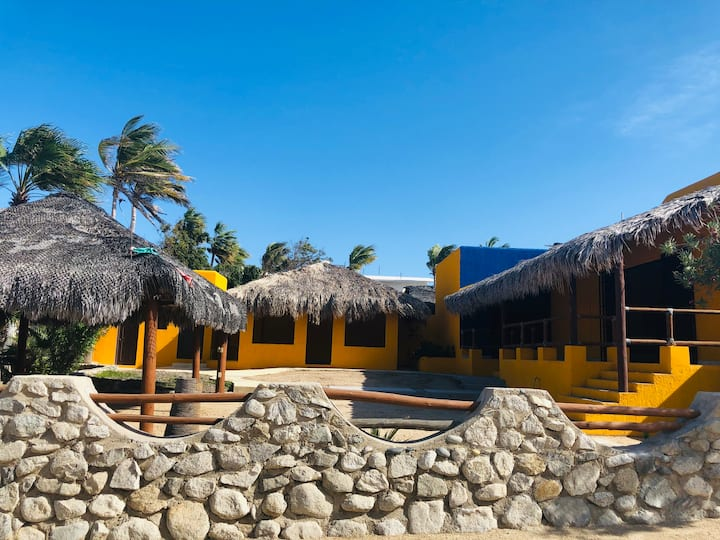 Buena Vista Home steps from the beach!