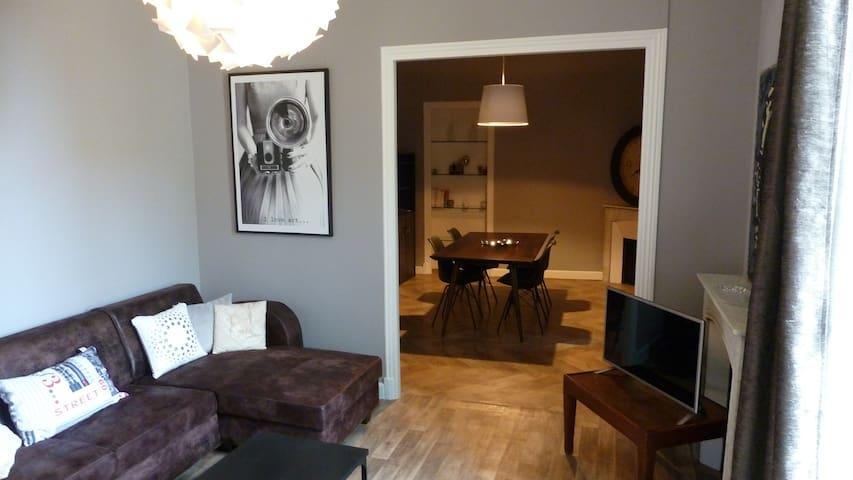 3 P dernier étage 5 min. des plages - Menton - Appartement