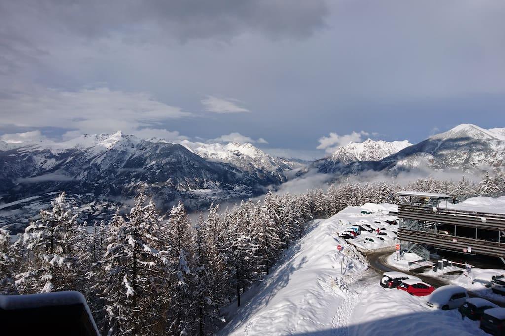 Belle vue d'hiver !