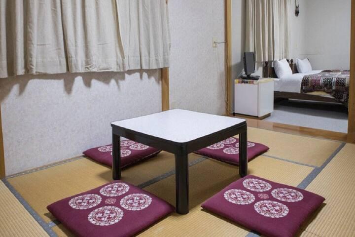 30min->Minakami Sta/JPN-WesternRoom/NoSmoke/NoMeal