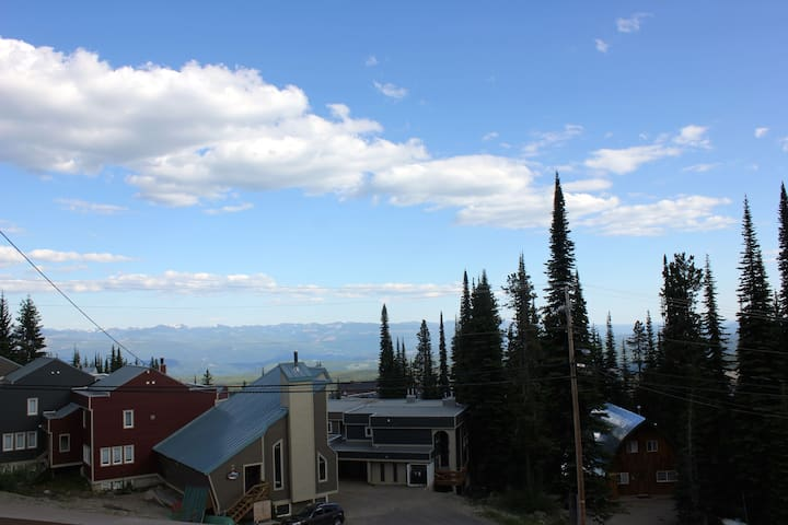 Moguls 400  Big deck, mountain views & private gym