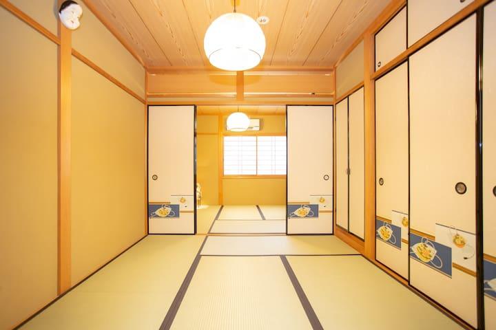 駅徒歩1分の静かに過ごせる一軒家Best for Kyoto sight 1min Work/Sta