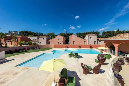 Villa 2 personnes proche Montpellier - Saint-Christol