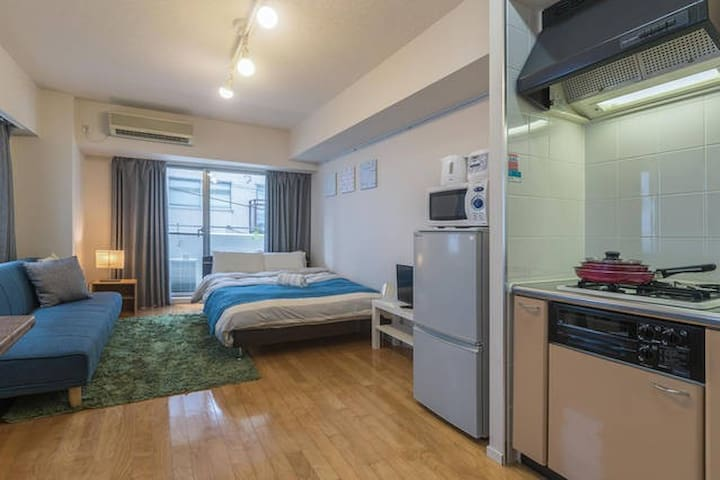 Direct to Shinjuku station / 3 beds Free wifi! - Suginami-ku - Квартира
