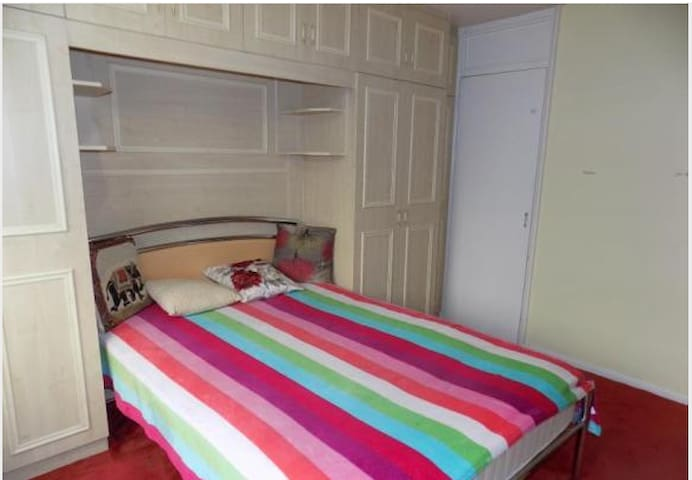 Bedroom with kitchen