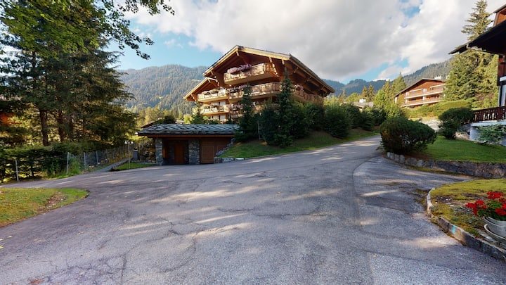 Large apartment in Villars - Chalet Diane