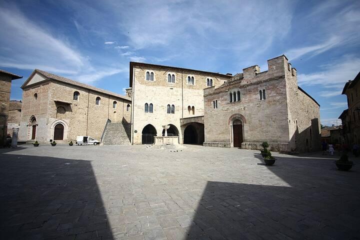 ....in pieno centro storico di Bevagna