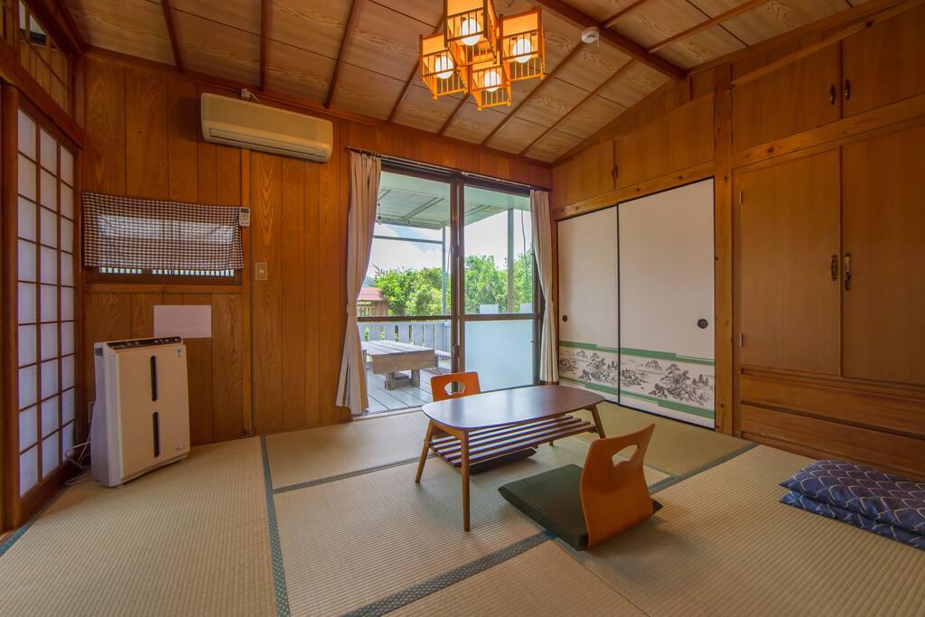 seaside okinawa family room h user zur miete in nakijin son okinawa japan. Black Bedroom Furniture Sets. Home Design Ideas