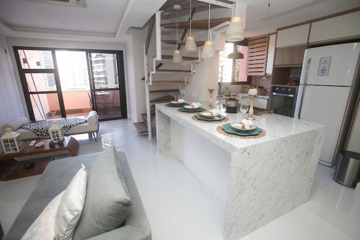 Beautiful 2 bedroom apartment in Barra da Tijuca