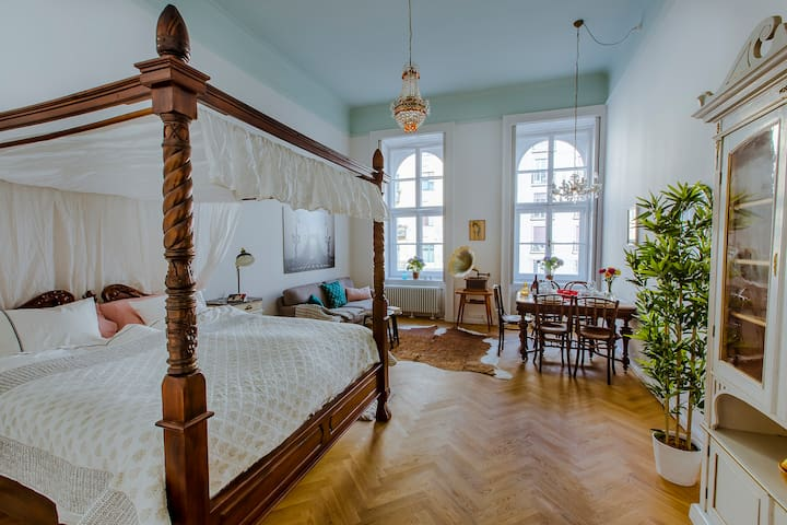 The other place, a charming classic stay in center - Budapest - Apartment
