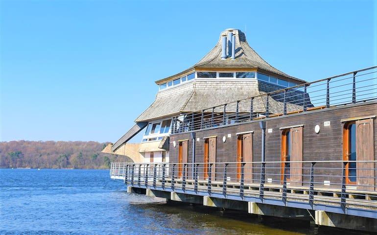 Chambre cabine sur l'eau - lac des Settons
