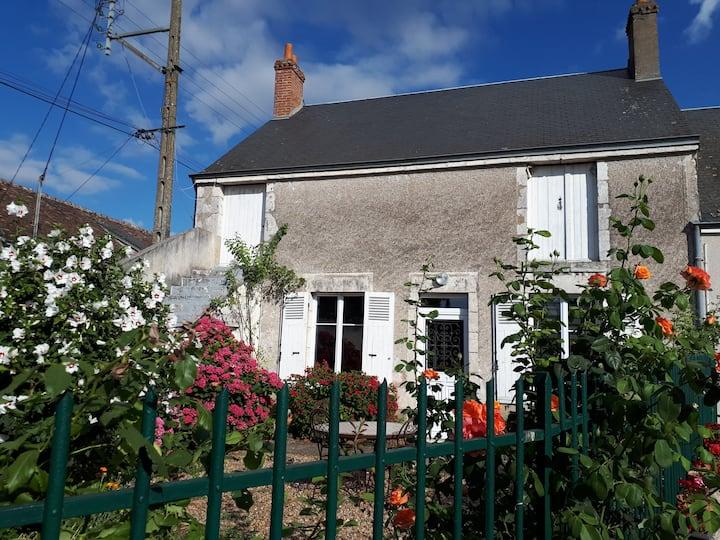 maison proche de Chambord par la Loire à vélo