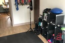 Gym / Workout Space