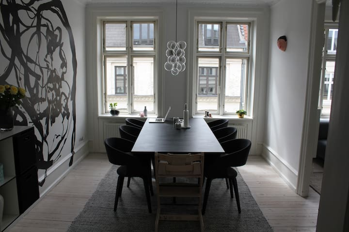 Modern cosy apartment in the heart of Copenhagen