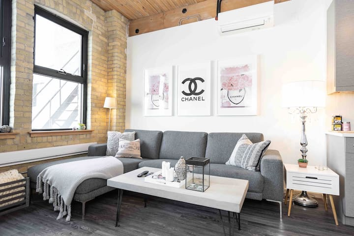 •New York Inspired Loft w/ Self Check-In Downtown•