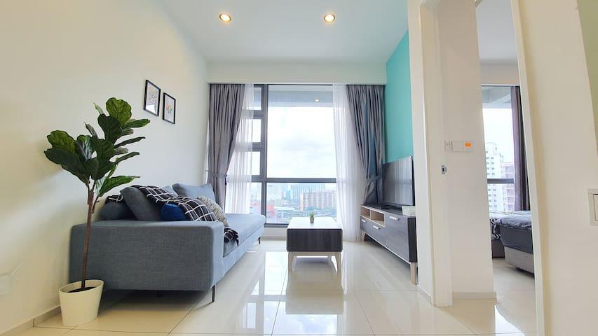 Cozy Room 500mMRT/Golf/Roof Top Pool Bukit Bintang