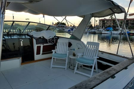 Beautiful Getaway On The Water. - Long Beach - Boat