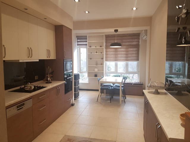 New and fully furnished apartment,  great location