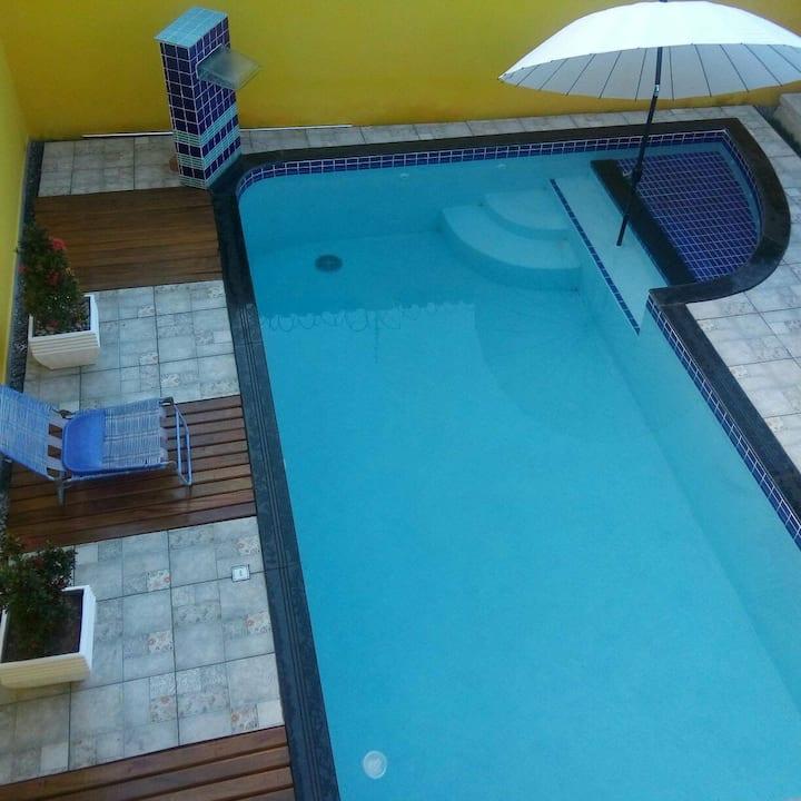 Alugo casa em Prado BA com piscina