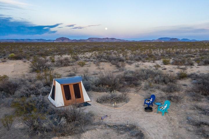 Spotted Skunk Shelter (Tent @ Big Bend Glamping)