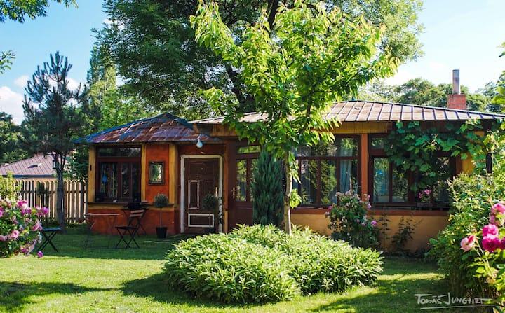 Awesome garden house near center