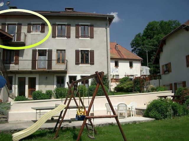 Appartement MB26 du Jura, classé 2 étoiles - Foncine-le-Haut - Apartment