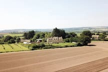 Cotswold stone country house with stunning views