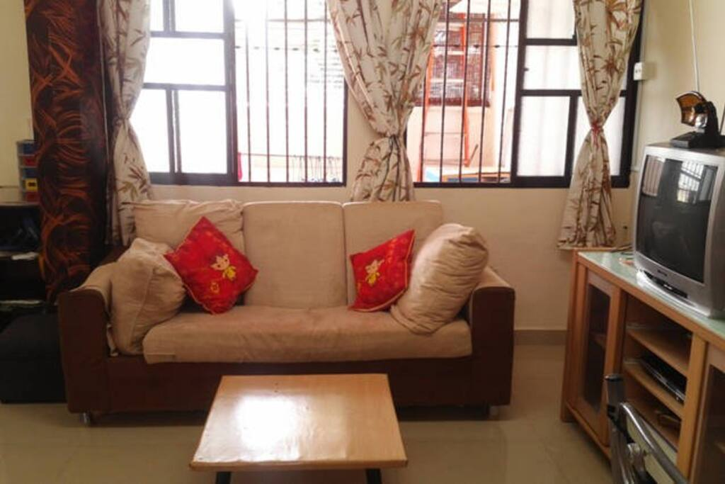 Living room on the first floor