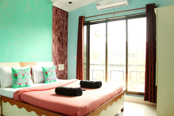 3 BHK COZY ROOMS  WITH   C POOL