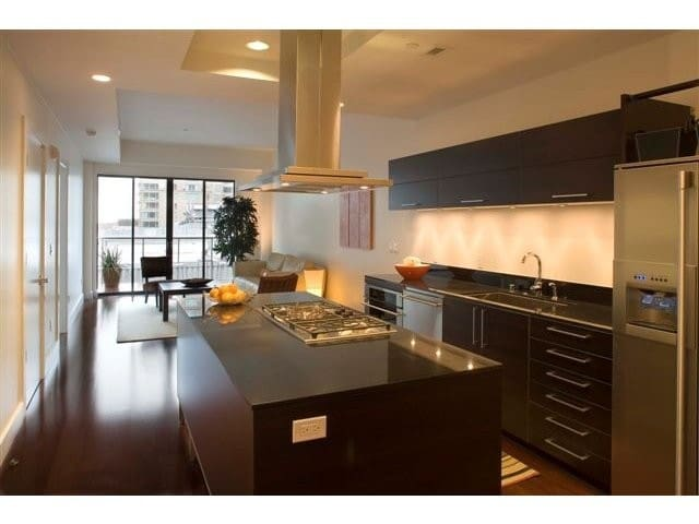 Luxury Upscale 1bd/1.5ba S Beach - San Francisco - Leilighet