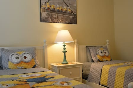 9-104 Minions in America Water View Condo - Kissimmee - Wohnung