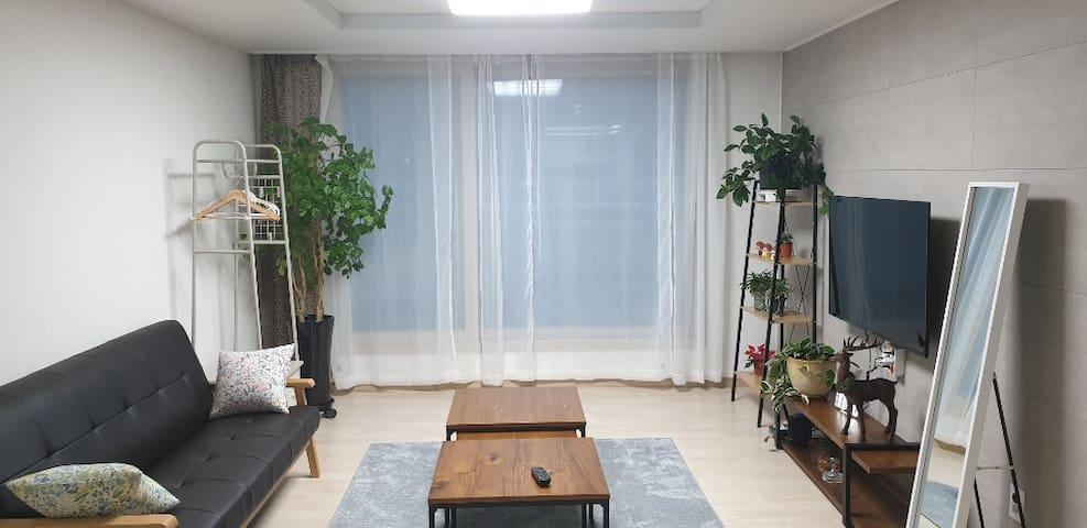 호텔급 퀄리티&편안함,미르安203Healing_Residence#광주수완10분#호텔식침구