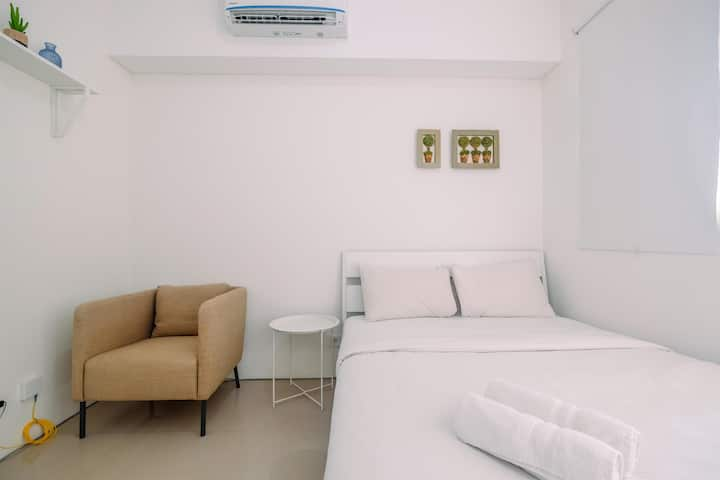 Cozy Studio @ Silk Town Apartment Tower Alexandria