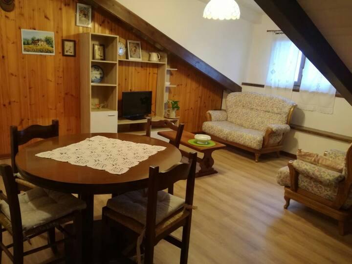Appartamento a 150 metri dal centro di Sestola.